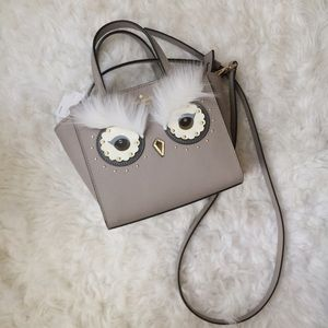 NWT Kate Spade Bright Owl Hadlee Crossbody Bag.